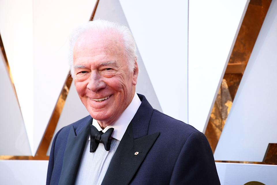 Christopher Plummer attends the 90th Annual Academy Awards at Hollywood & Highland Center on March 4, 2018 in Hollywood. (Photo by Steve Granitz/WireImage)