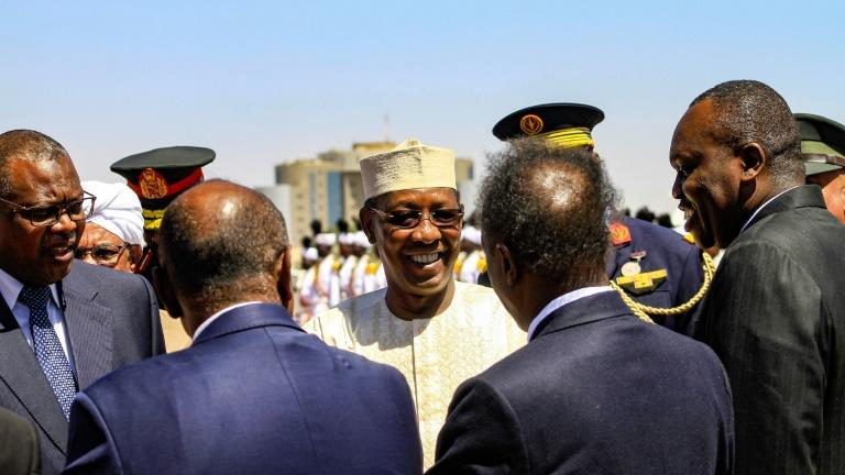 Deby grabbed power in Chad in 1990 (AFP Photo/Ebrahim Hamid)