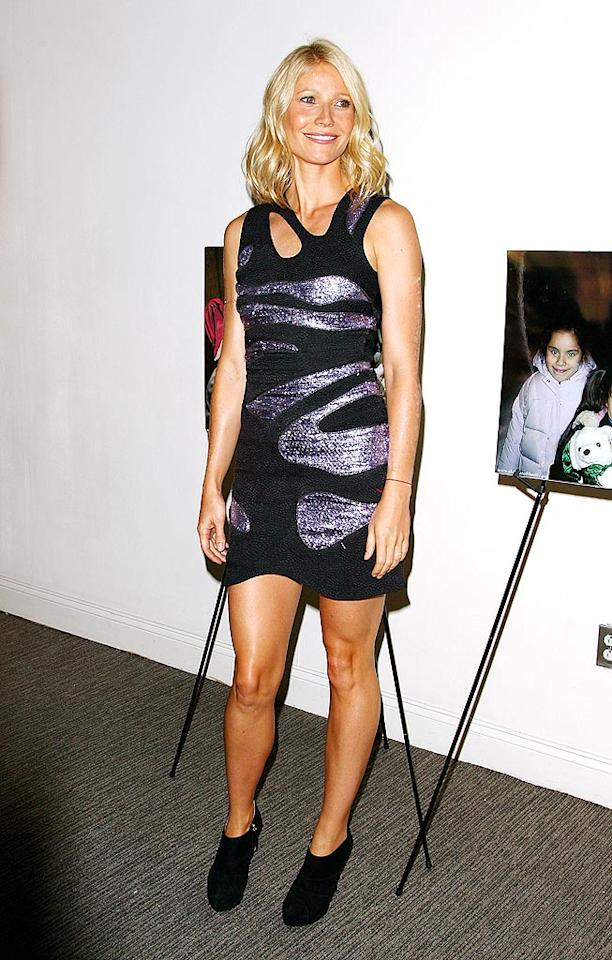 """We're not hating on Gwyneth Paltrow's rock-chic Preen dress. What we can't stand are those freakin' booties. Wake up, ladies! Closed-toe ankle boots resemble hooves and ruin a leg's lovely line. Andrew H. Walker/<a href=""""http://www.gettyimages.com/"""" target=""""new"""">GettyImages.com</a> - July 29, 2009"""