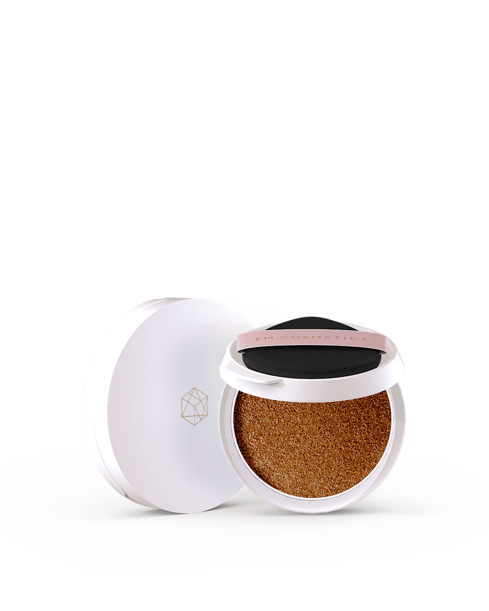 <p>Touch up your coverage throughout the day with this lightweight <span>Em Cosmetics Daydream Cushion Tinted SPF 50</span> ($48). The compact is perfect for on the and the cushion it comes with delivers a seamless, natural application. </p>