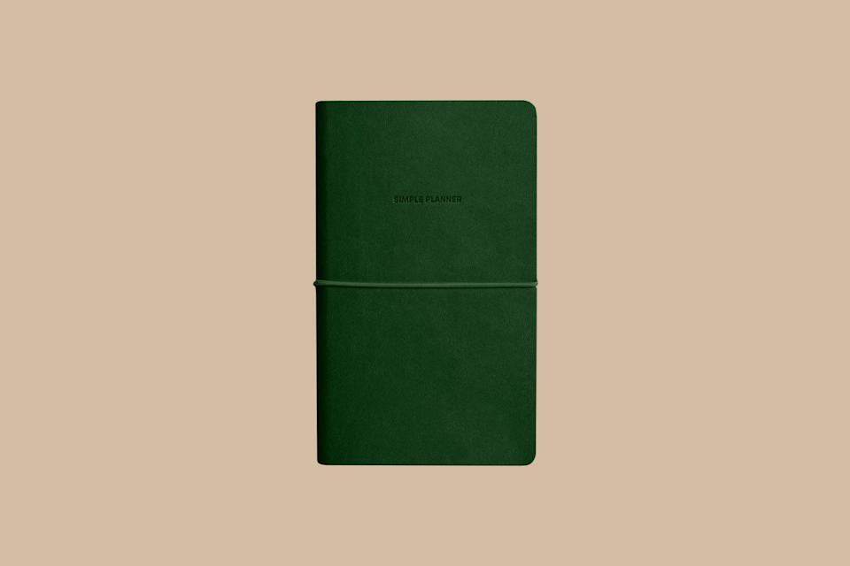 """<p>This open-dated planner still has a spot for every day of the week, month, and year—just without specific dates, which gives you more flexibility. It also offers up space for notes and special projects.</p> <p><strong><em>Shop Now:</em></strong><em> Poketo Open-Dated Yearly, Monthly, Weekly """"Simple"""" Planner, $36, <a href=""""https://www.amazon.com/Poketo-Open-Dated-Yearly-Monthly-Planner/dp/B07XL4CF9M/ref=as_li_ss_tl?ie=UTF8&linkCode=ll1&tag=bhgbeustressedskinsosmrud0720-20&linkId=ceda0fd147197b5263569759bd2907ed&language=en_US"""" rel=""""nofollow noopener"""" target=""""_blank"""" data-ylk=""""slk:amazon.com"""" class=""""link rapid-noclick-resp"""">amazon.com</a>.</em></p>"""
