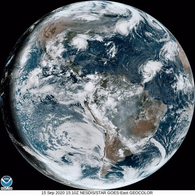 hurricanes tropical storms cyclones atlantic satellite gif