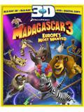 Madagascar 3: Europe's Most Wanted Box Art