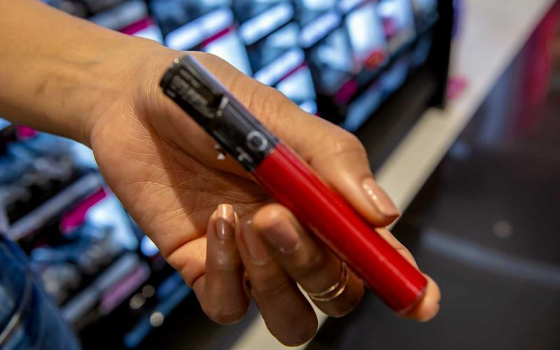 Sephora's red liquid lipsticks are a popular choice for cabin crew thanks to feeling leightweight while still providing coverage.  | Talia Avakian