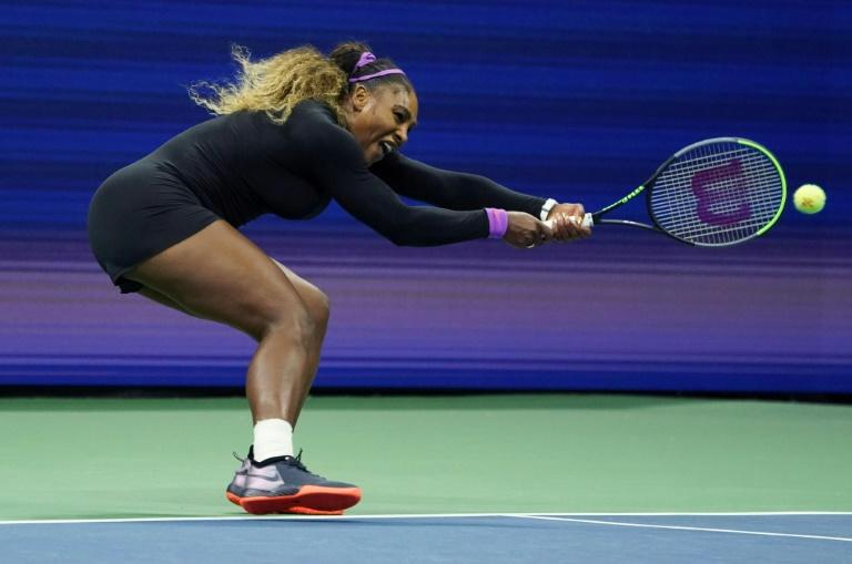Serena Williams is through to a 33rd Grand Slam singles final