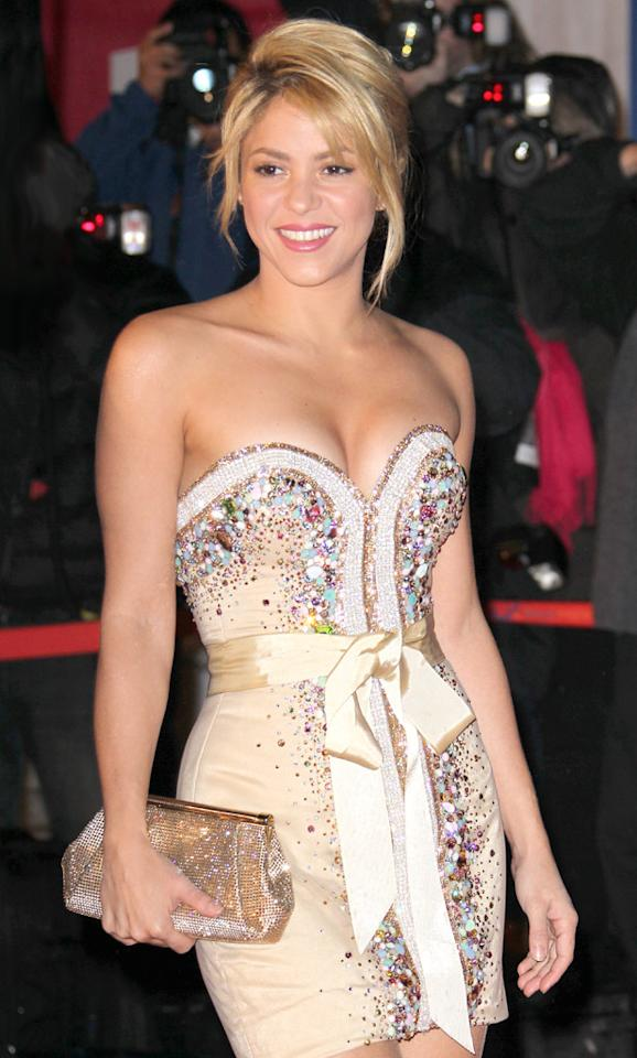 Shakira turns 35 on February 2.