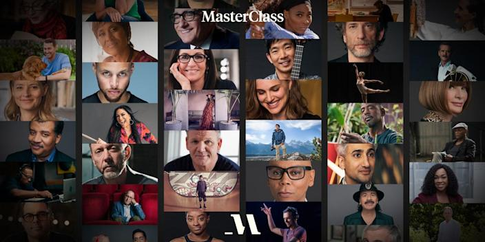 """From Carlos Santana to Ron Finley (a.k.a. """"the Gangster Gardener"""") and Gordon Ramsey, <a href=""""https://www.glamour.com/story/masterclass-review?mbid=synd_yahoo_rss"""" rel=""""nofollow noopener"""" target=""""_blank"""" data-ylk=""""slk:MasterClass"""" class=""""link rapid-noclick-resp"""">MasterClass</a> taps successful figures across industries to share expert insights and teach your dad new skills. $180, MasterClass. <a href=""""https://www.masterclass.com/"""" rel=""""nofollow noopener"""" target=""""_blank"""" data-ylk=""""slk:Get it now!"""" class=""""link rapid-noclick-resp"""">Get it now!</a>"""