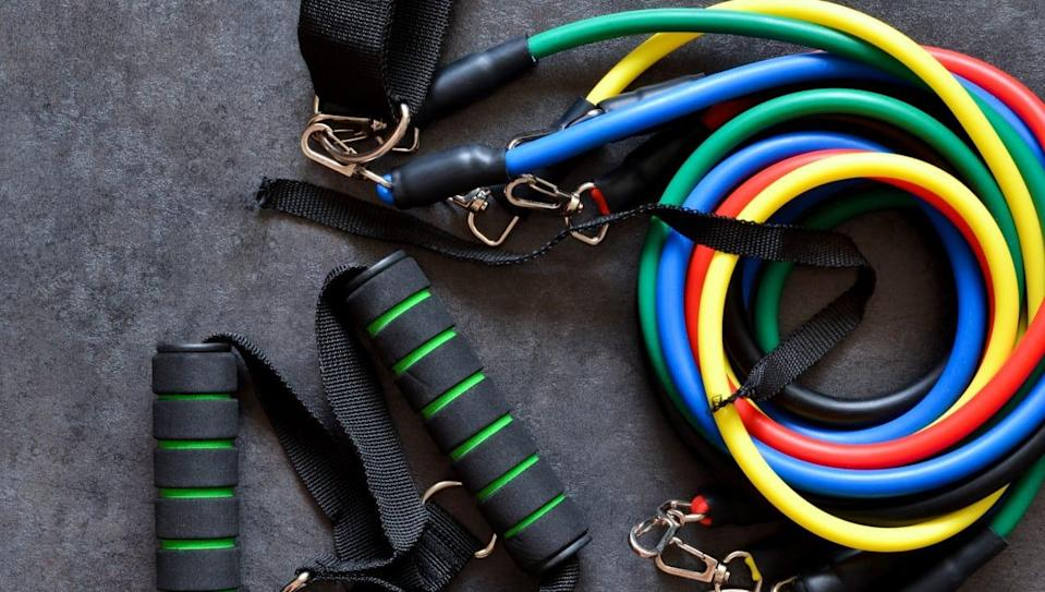 Resistance bands are a great way to up your strength training game.