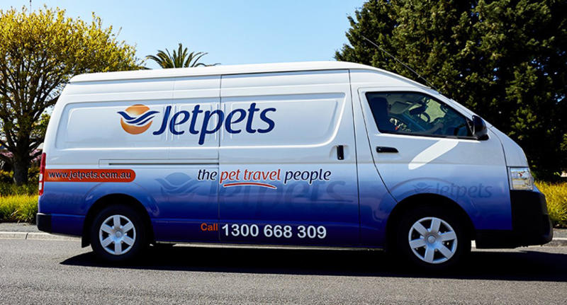 A Jetpets van as pictured on their Facebook page.