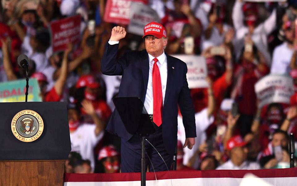 President Donald Trump's campaign is fighting to make sure fewer votes are counted. (Photo: Jim Rassol/Associated Press)