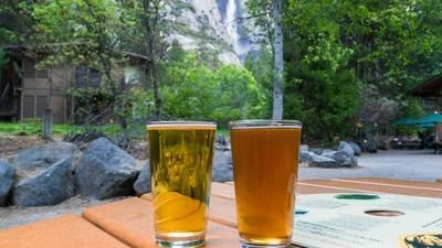 Local micro-breweries South Gate Brewing Co. of Oakhurst and 1850 Brewing Co. of Mariposa are now available on tap at Yosemite Valley Lodge.