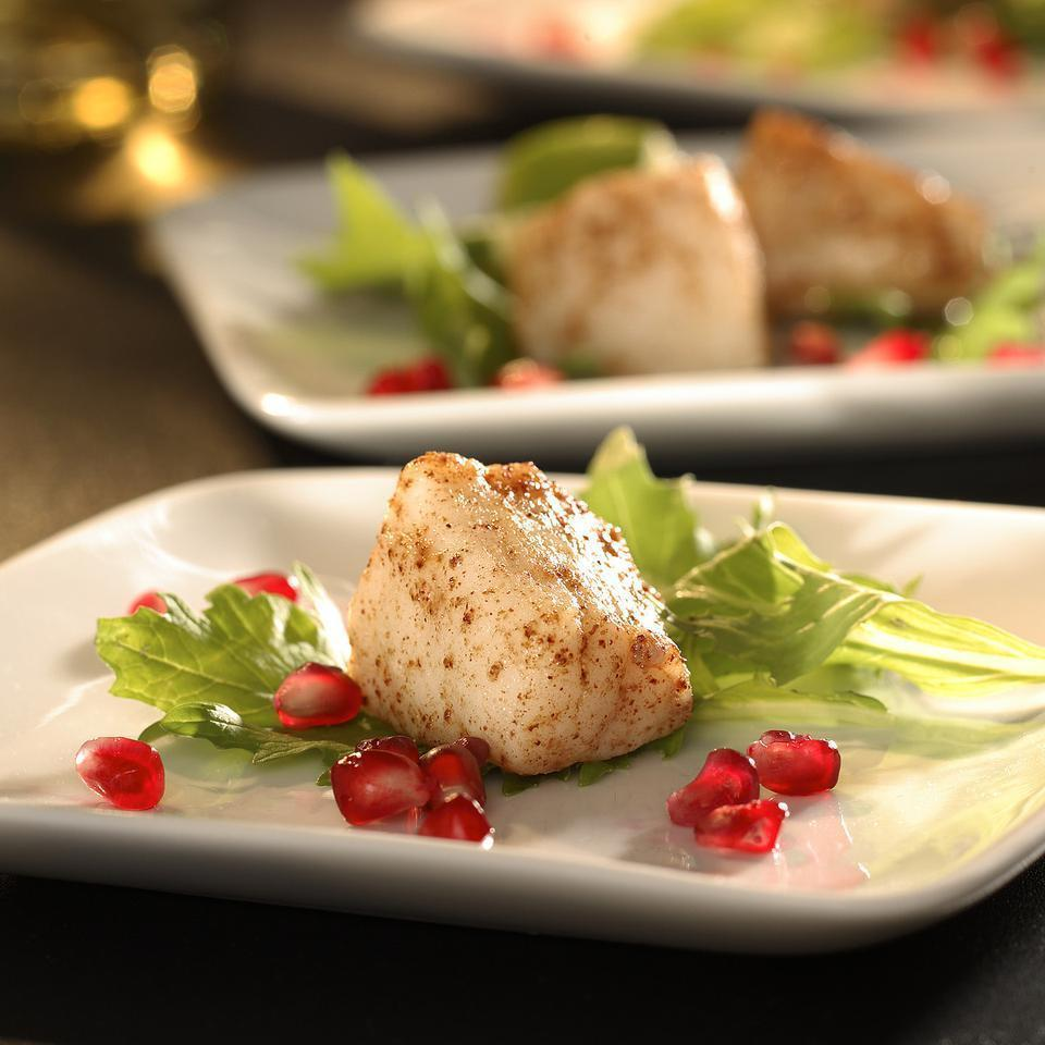 <p>You could also serve the scallops over Asian salad greens dressed with sesame oil and rice vinegar for a simple dinner.</p>