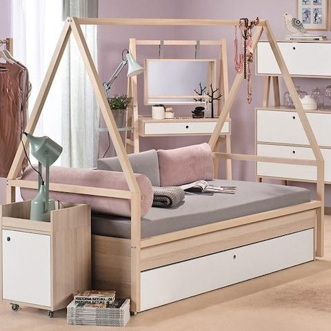 Tipi Bed Day Bed with trundle