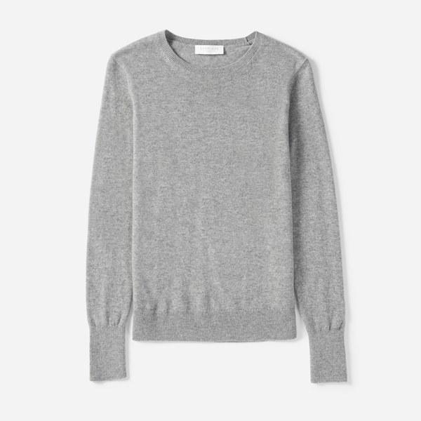 "A cashmere sweater under $100? Yes, you read that correctly. Everlane knows the way to our hearts and closets by always delivering top notch products at great prices. $100, Everlane. <a href=""https://www.everlane.com/products/womens-cashmere-crew2-heathergrey?collection=womens-sweaters"">Get it now!</a>"