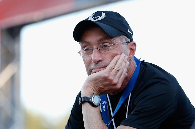 Months after Mary Cain detailed allegations against Alberto Salazar and Nike, the U.S. Center for SafeSport suspended the longtime running coach. (Christian Petersen/Getty Images)