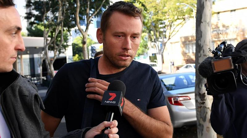 Daniel Allan Baker appeared in court after being extradited from Northern Territory.