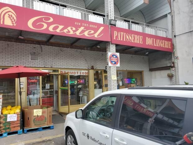 Marché Castel, a pastry shop on Jean-Talon Street, is one of several North African businesses in the neighbourhood.