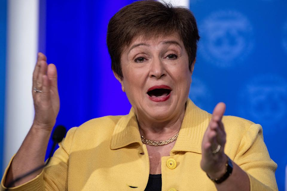 IMF head Kristalina Georgieva has predicted doom and gloom for the global economy (Getty)