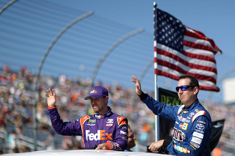 Bowyer's 'ugly' race good enough to stay in playoffs