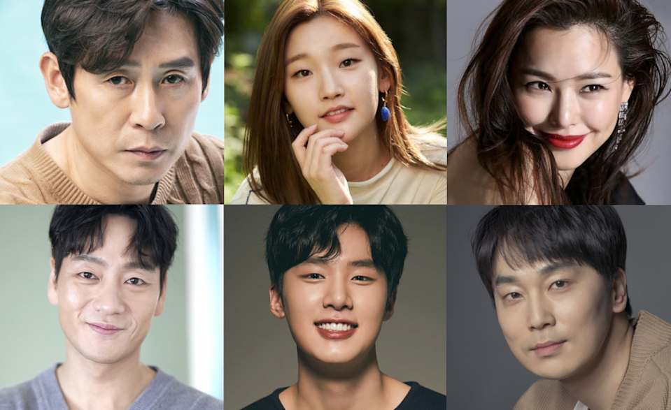 Park So Dam, Sol Kyung Gu, Honey Lee, Kim Dong Hee and more begin filming  the movie 'The Ghost' | allkpop