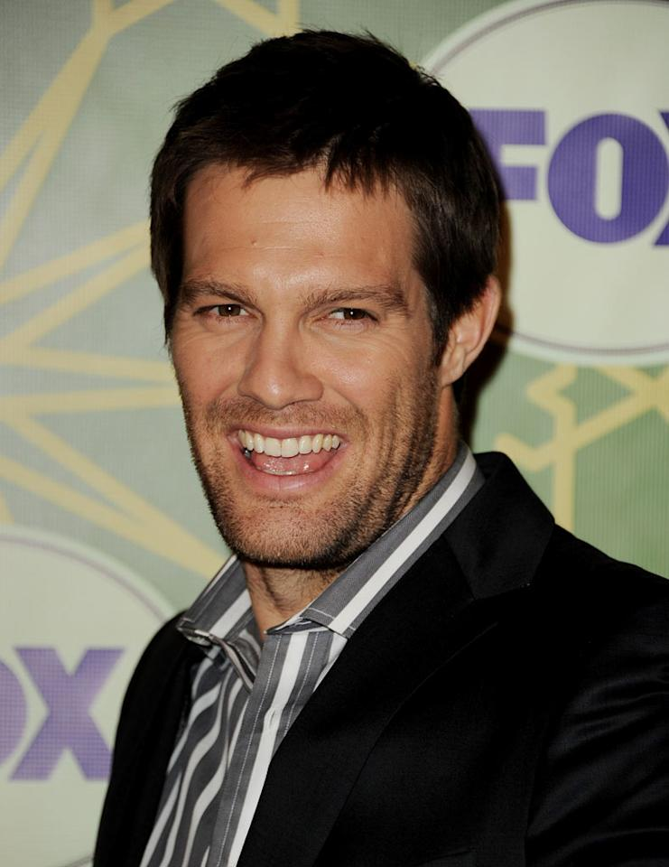 """<a href=""""/geoff-stults/contributor/43045"""">Geoff Stults</a> (""""<a href=""""/finder/show/47409"""">The Finder</a>"""") attends the 2012 Fox Winter TCA All-Star Party at Castle Green on January 8, 2012 in Pasadena, California."""