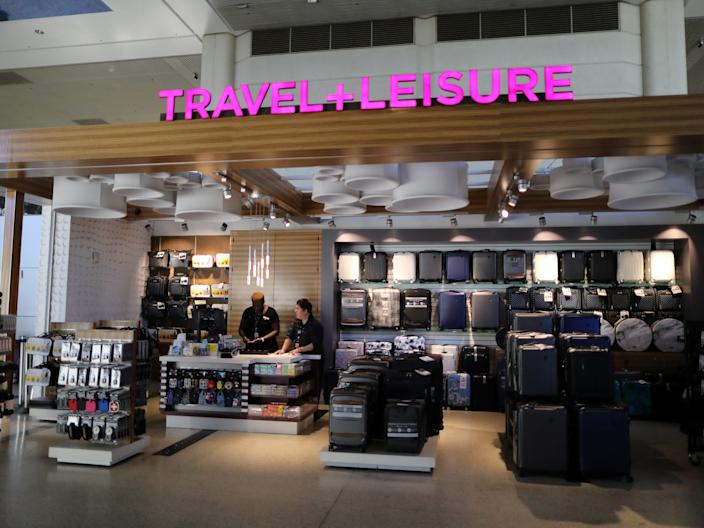 A retailer at LAX Airport.