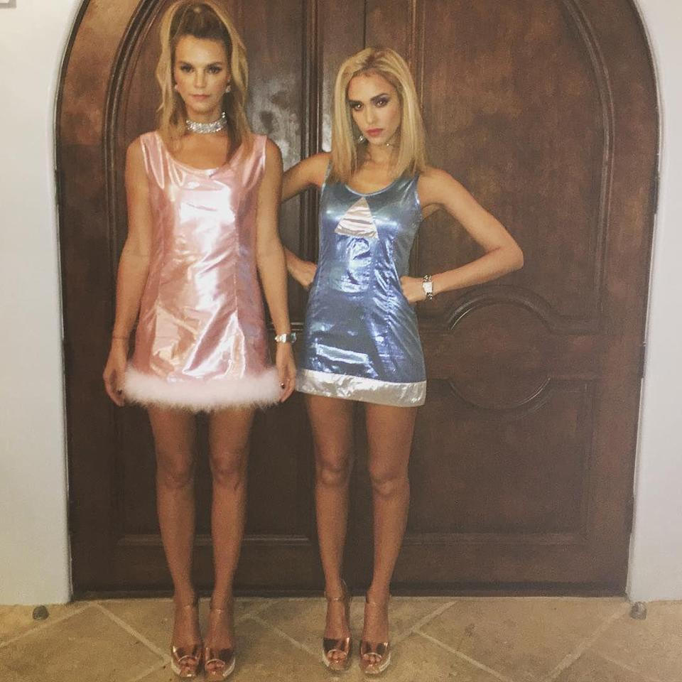 <p>Reunited and it feels so ...'90s! Back in 2016, the pals sported mini dresses like the ones Lisa Kudrow and Mira Sorvino wore in the 1997 movie <em>Romy and Michele's High School Reunion</em>. </p>
