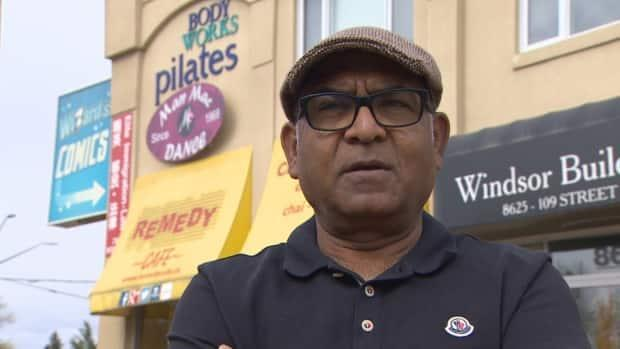 Remedy Cafe owner Zee Zaidi says the new proof-of-vaccination program is costing him customers and money. (Jamie McCannel/CBC - image credit)