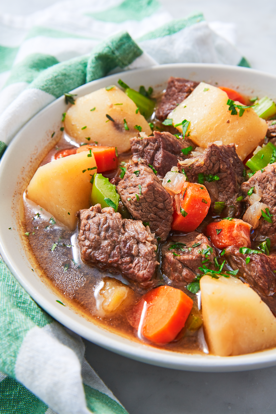 """<p>It doesn't get much cozier than this.</p><p>Get the recipe from <a href=""""https://www.delish.com/cooking/recipe-ideas/a26258692/irish-stew-recipe/"""" rel=""""nofollow noopener"""" target=""""_blank"""" data-ylk=""""slk:Delish"""" class=""""link rapid-noclick-resp"""">Delish</a>.</p>"""