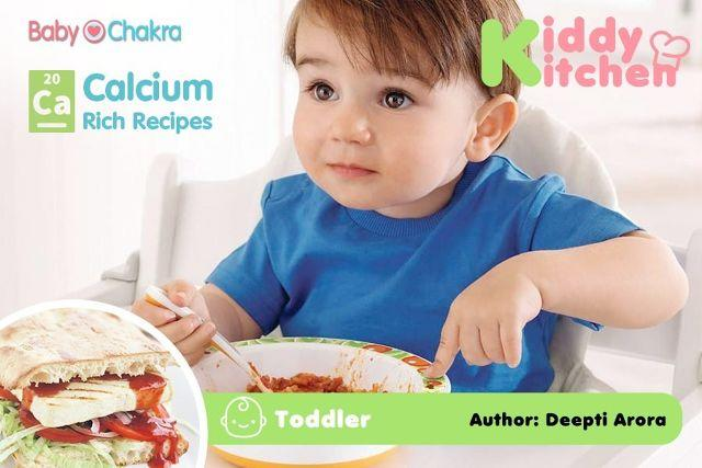 Kiddy Kitchen: Calcium Special Meal Plan (Toddler)