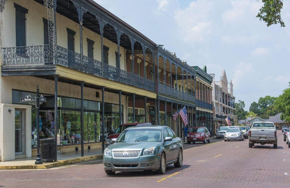 """<p>History buffs, you're going to want to visit <a href=""""https://www.tripadvisor.com/Tourism-g40335-Natchitoches_Louisiana-Vacations.html"""" rel=""""nofollow noopener"""" target=""""_blank"""" data-ylk=""""slk:this town"""" class=""""link rapid-noclick-resp"""">this town</a>, which is the oldest permanent settlement in the Louisiana Purchase. Today, you can wander around the 33-block district or try one of their famous meat pies.</p>"""