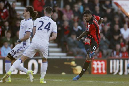 Britain Football Soccer - AFC Bournemouth v Chelsea - Premier League - Vitality Stadium - 8/4/17 Bournemouth's Joshua King scores their first goal Action Images via Reuters / John Sibley Livepic