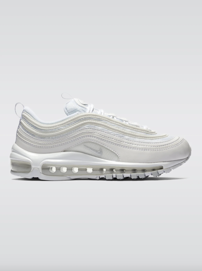 """<p><strong>Nike</strong></p><p>Carbon38</p><p><a href=""""https://go.redirectingat.com?id=74968X1596630&url=https%3A%2F%2Fcarbon38.com%2Fcollections%2Fsitewide-eligible%2Fproducts%2Fwomens-air-max-97-lx&sref=https%3A%2F%2Fwww.cosmopolitan.com%2Fstyle-beauty%2Fg37668911%2Fcarbon38-fall-sale-fashion%2F"""" rel=""""nofollow noopener"""" target=""""_blank"""" data-ylk=""""slk:Shop Now"""" class=""""link rapid-noclick-resp"""">Shop Now</a></p><p><strong><del>$170</del> $119 </strong></p><p>An iconic Nike sneaker for HIIT workouts and leisurely walks alike. </p>"""
