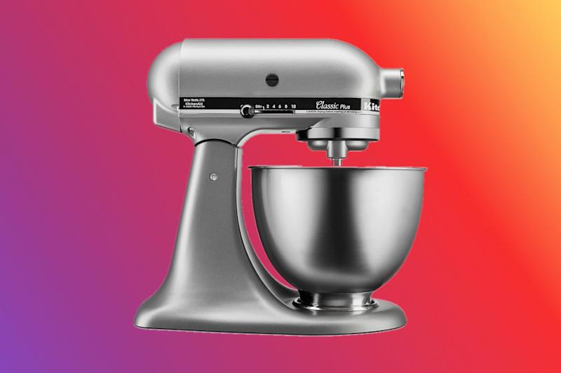 Save on mixers, coffeemakers, comforters and more. (Photo illustration: Yahoo Lifestyle; photo: via Walmart)