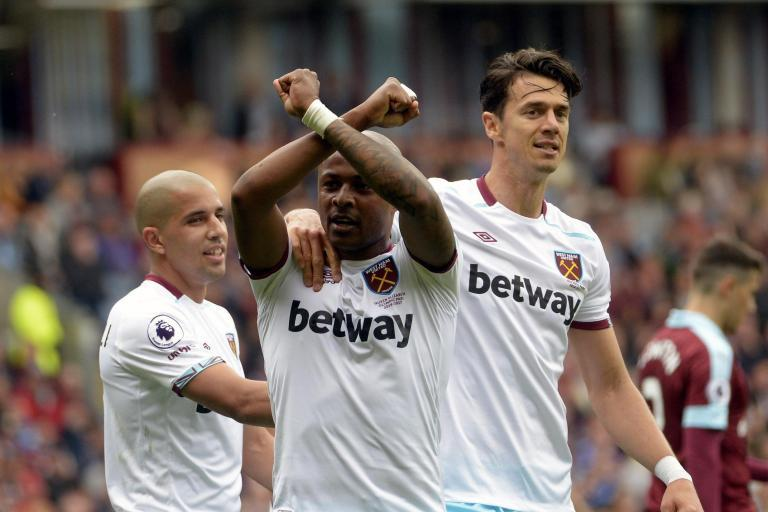 Burnley 1 West Ham 2: Andre Ayew goal sees Hammers come from behind to win at Turf Moor