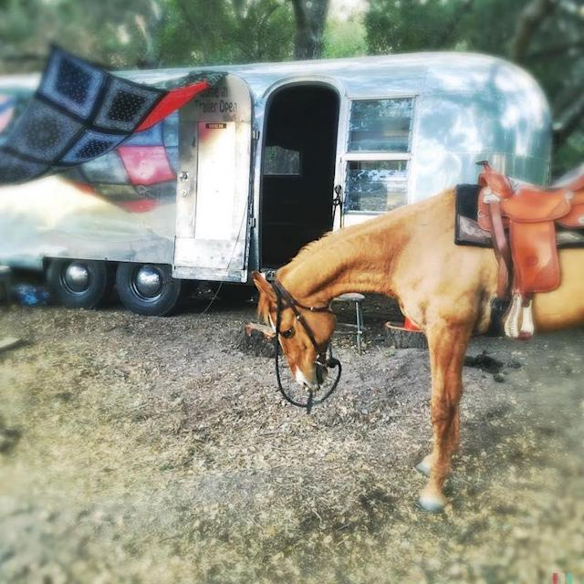 """<p>Apparently, the way to Channing Tatum's heart is through a Chrome Airstream trailer. To ring in the actor's birthday, he and wife Jenna Dewan took their camper — and a horse — into the wilderness (Photo: <a href=""""https://www.instagram.com/p/BErvtJzgCF0/?taken-by=channingtatum&hl=en"""" rel=""""nofollow noopener"""" target=""""_blank"""" data-ylk=""""slk:Channing Tatum via Instagram"""" class=""""link rapid-noclick-resp"""">Channing Tatum via Instagram</a>)<br><br></p>"""