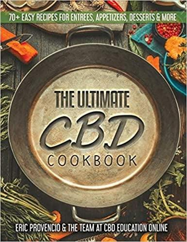 <p>The <span>The Ultimate CBD Cookbook by Eric Provencio</span> ($20) has over 70 easy recipes including entrees, appetizers, desserts, drinks, smoothies, candies, and even cat and dog treats. </p>