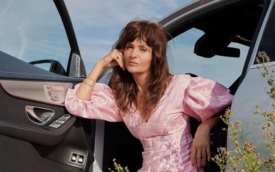51-year-old Helena Christensen has no interest in talking about her age
