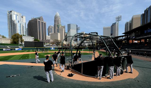 Major League Baseball is hoping to downsize the minor leagues from 160 teams to 120 by 2021. (Jeff Siner/Getty Images)