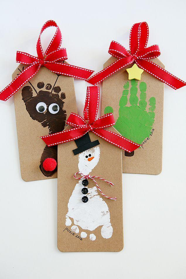"""<p>Looking for a fun project to do with a baby? This DIY holiday card doubles as a special keepsake for any lucky recipient. </p><p><em>Get the tutorial at <a href=""""https://eighteen25.com/footprint-christmas-ornaments/"""" rel=""""nofollow noopener"""" target=""""_blank"""" data-ylk=""""slk:Eighteen25"""" class=""""link rapid-noclick-resp"""">Eighteen25</a>.</em></p><p><a class=""""link rapid-noclick-resp"""" href=""""https://www.amazon.com/Acrylic-Paint-Value-Craft-Pieces/dp/B079Q8DZC4?tag=syn-yahoo-20&ascsubtag=%5Bartid%7C10072.g.34351112%5Bsrc%7Cyahoo-us"""" rel=""""nofollow noopener"""" target=""""_blank"""" data-ylk=""""slk:SHOP CRAFT PAINT"""">SHOP CRAFT PAINT</a></p>"""