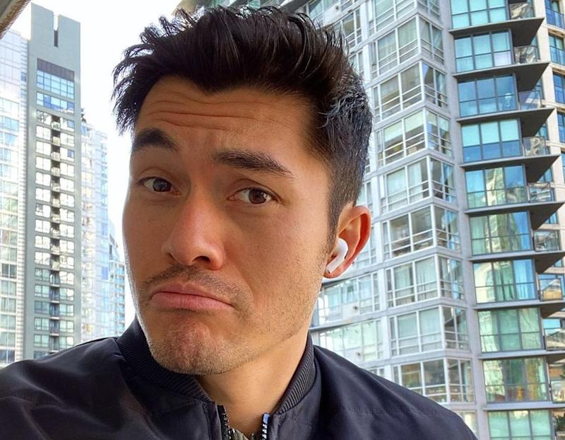 The 'Crazy Rich Asians' star initially thought he had made enemies with McConaughey. — Picture from Instagram/henrygolding