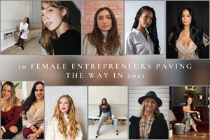 Ascripting Publishes  >> 10 female entrepreneurs paving the way in 2021