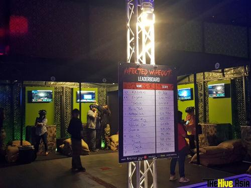 "You can also test your zombie-shooting skills at the ""Train to Busan"" horror house."