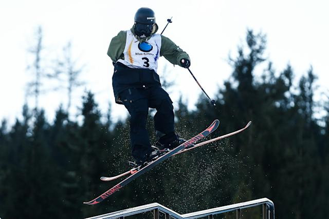 Fabian Böesch is expected to compete in Sunday's slopestyle competition. (Getty images)