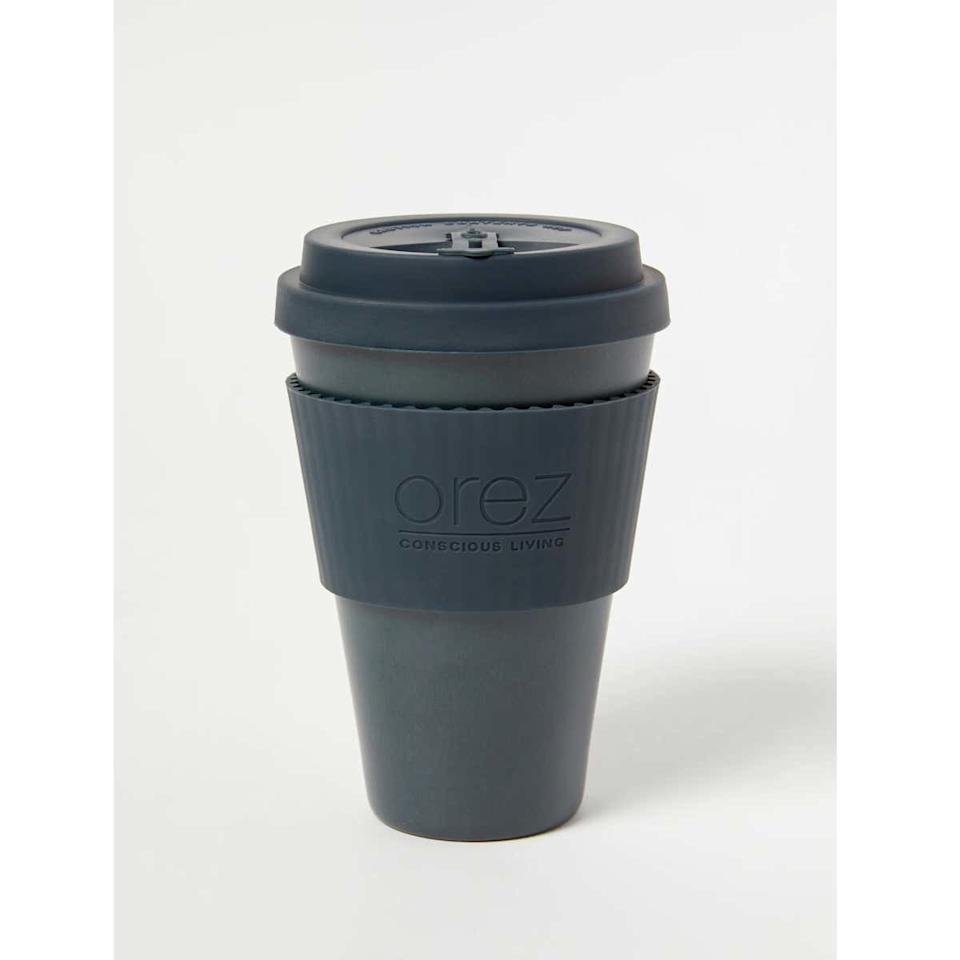 "Being sustainable doesn't have to mean abandoning your devotion to coffee—as proven by this bamboo coffee cup from Orez. $16, Verishop. <a href=""https://www.verishop.com/orez/cups/bamboo-coffee-cup/p4170389815319"">Get it now!</a>"