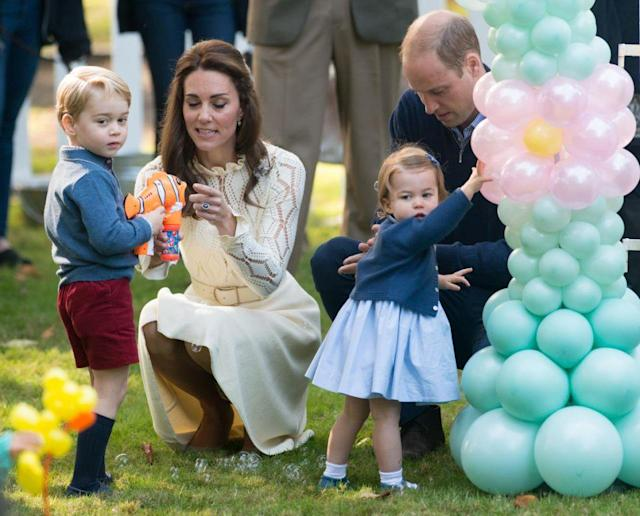 The royal family is growing. (Photo: Getty Images)