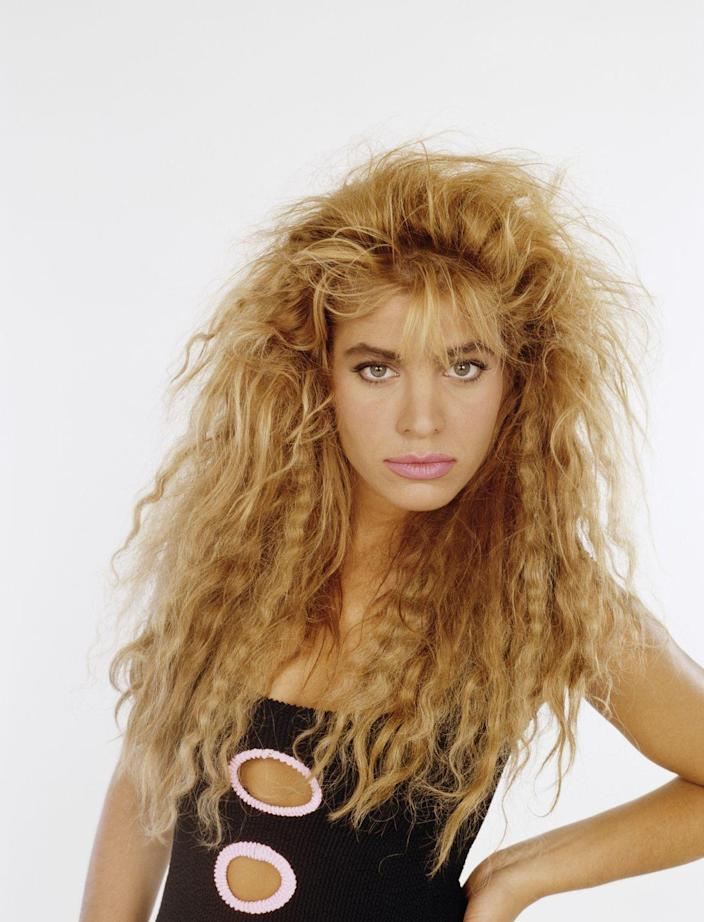 <p>Another unfortunate trend of the '80s, crimped hair found its place in society and stuck around on and off throughout the 1990s.</p>