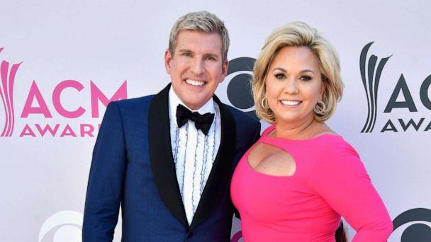 PHOTO: TV personalities Todd Chrisley and Julie Chrisley attend the 52nd Academy Of Country Music Awards at Toshiba Plaza on April 2, 2017 in Las Vegas, Nevada. (Frazer Harrison/Getty Images)
