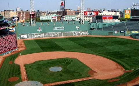 View of Green Monster outfield wall at Fenway Park - Credit: WIKIMEDIA COMMONS