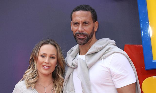 Kate and Rio Ferdinand may be expanding their family. (Photo by Mike Marsland/WireImage)